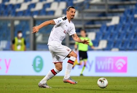 Doblete de Zlatan y victoria de Milan sobre Sassuolo — Volvió Ibrahimovic