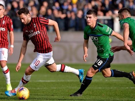 Ver EN VIVO AC Milan vs Atalanta por la Serie A de Italia