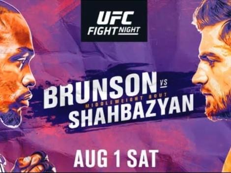 Ver EN VIVO UFC Vegas 5 con la estelar Brunson vs Shahbazyan