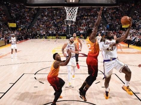 Ver EN VIVO Los Angeles Lakers vs Utah Jazz por la NBA