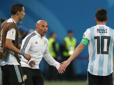 Cuentan la firme del quiebre entre el camarín argentino y Sampaoli