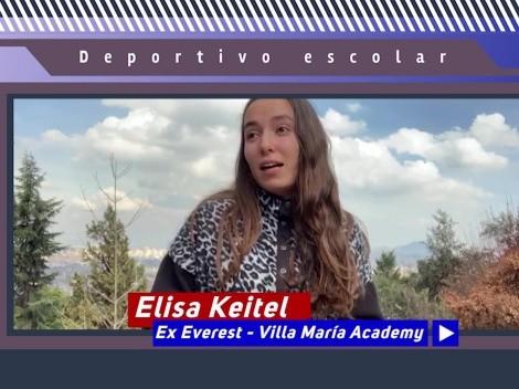 """Elisa Keitel: """"Me encantaría ser un modelo a seguir como mi papá"""""""