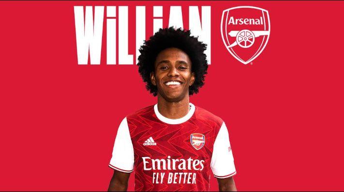 Willian es oficialmente nuevo jugador de los Gunners — Arsenal