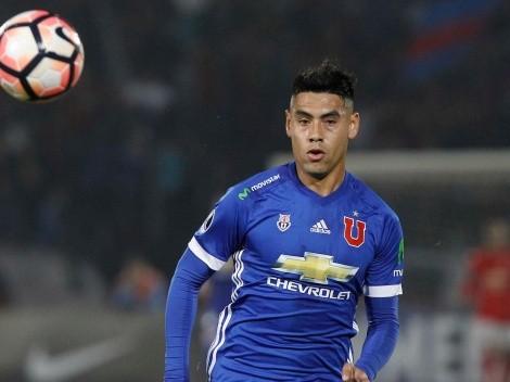 """Felipe Mora: """"No me gustaría jugar en los rivales, soy de la U"""""""