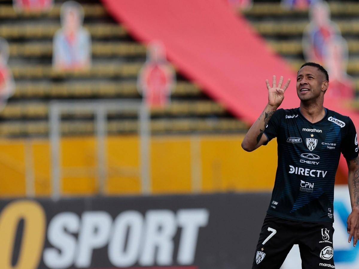 Gabriel Torres marca en el fútbol ecuatoriano y es una de las ...