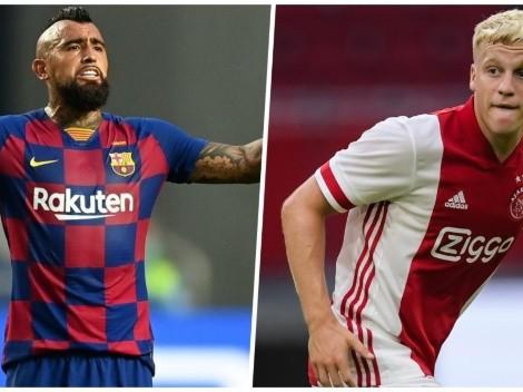 Koeman pide al Barcelona como primer refuerzo a Van de Beek