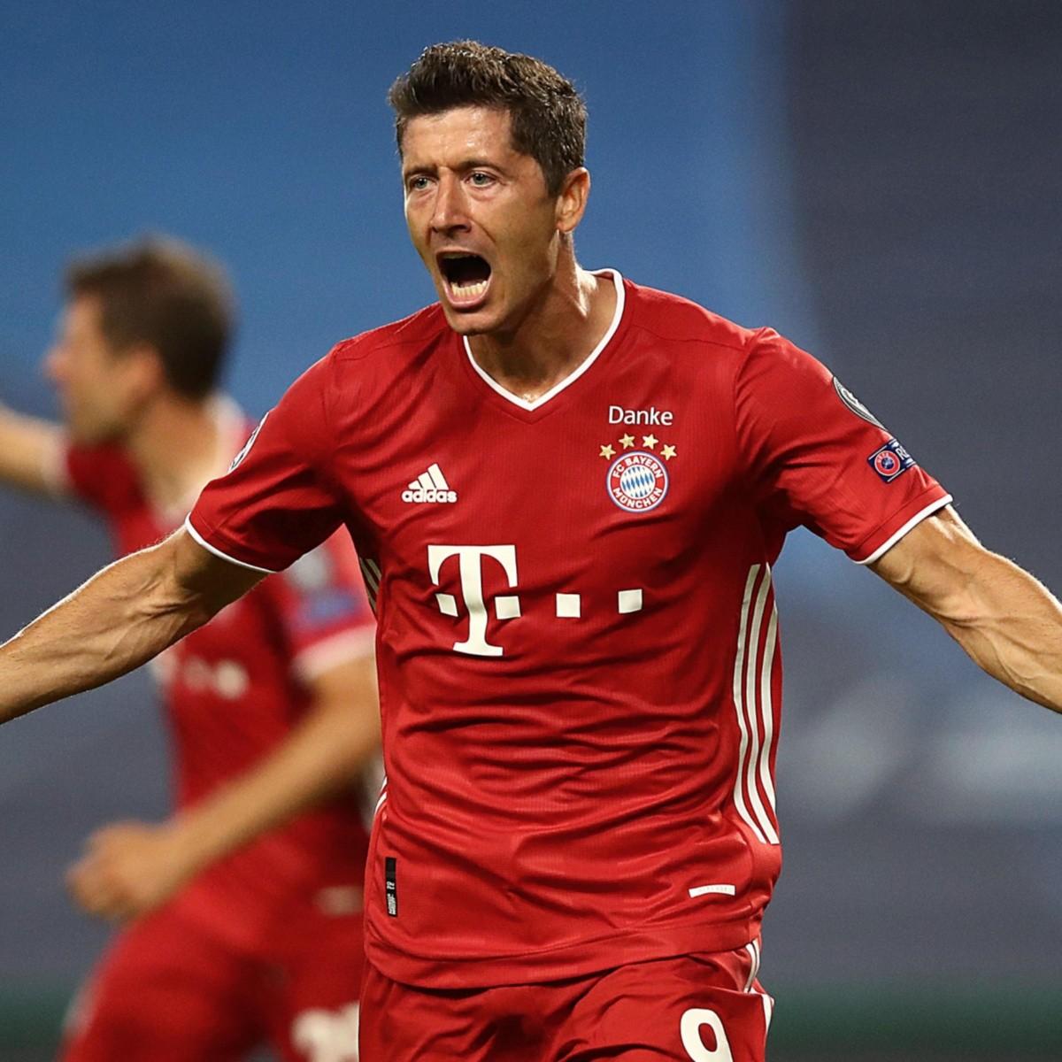 Lewandowski está a punto de romper el récord goleador de Cristiano ...