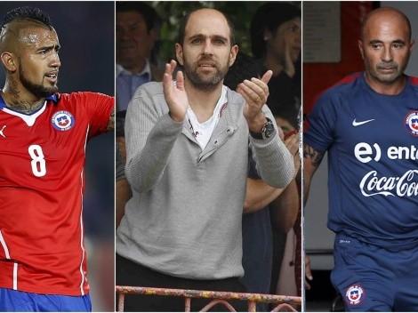 """Mano derecha de Jadue: """"Sampaoli quería a Vidal fuera"""""""