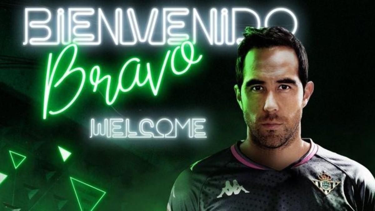 Real Betis hace oficial el fichaje de Claudio Bravo: Es el segundo fichaje de Manuel Pellegrini | RedGol