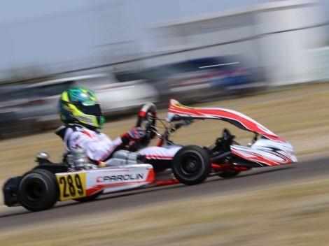 Nico Ambiado se luce en el Campeonato Italiano ACI Karting