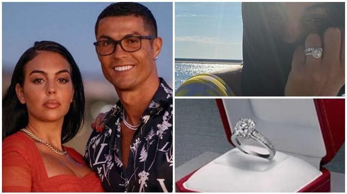 La roca que CR7 le dio a su novia podría ser la más cara de la historia.
