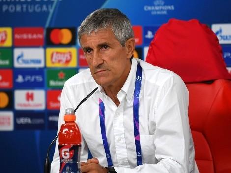 Setién anuncia acciones legales contra el Barça tras su despido