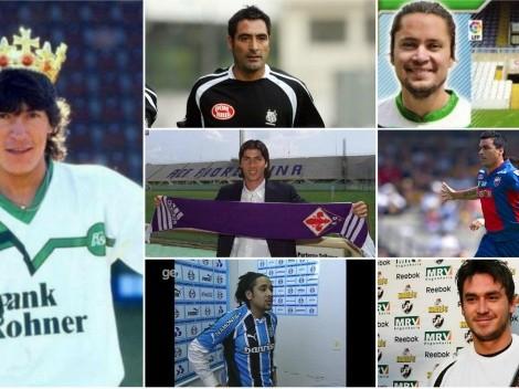 30 futbolistas chilenos que no recordabas que vistieron estas camisetas