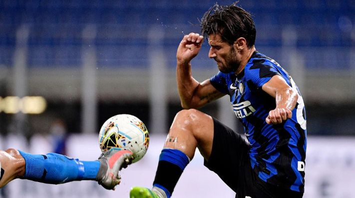 Antonio Candreva cambia a Inter de Milán por Sampdoria