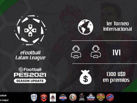 Participa en la eFootball Latam League con 1300 dólares en premios