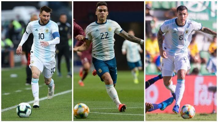 Messi aterrizó en la Argentina para jugar con la Selección
