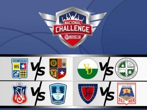 Se definen los semifinalistas del Deportivo Escolar Challenge