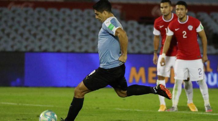Luis Suárez puso el primer gol en el Centenario