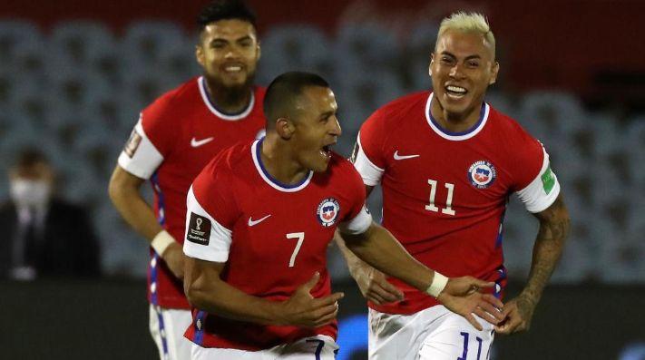 La Roja celebró con todo el gol