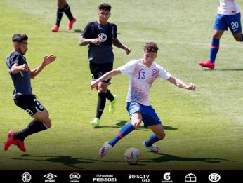 Colo Colo y la sub 20 de Chile disputan amistoso en el Estadio Monumental