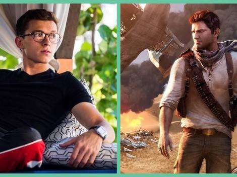 "Tom Holland revela primera imagen de ""Uncharted"""