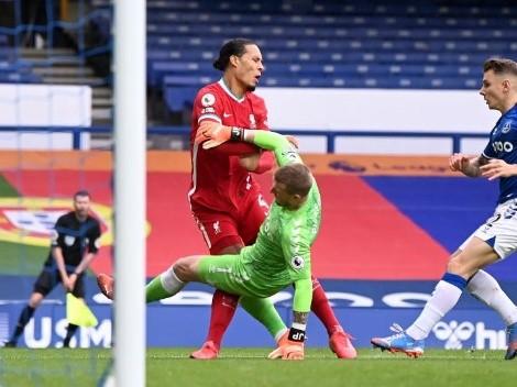 Pickford recibe amenazas de muerte tras lesionar a van Dijk