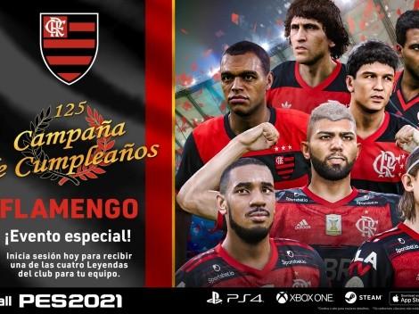 PES 2021 regala una leyenda del Flamengo en myClub