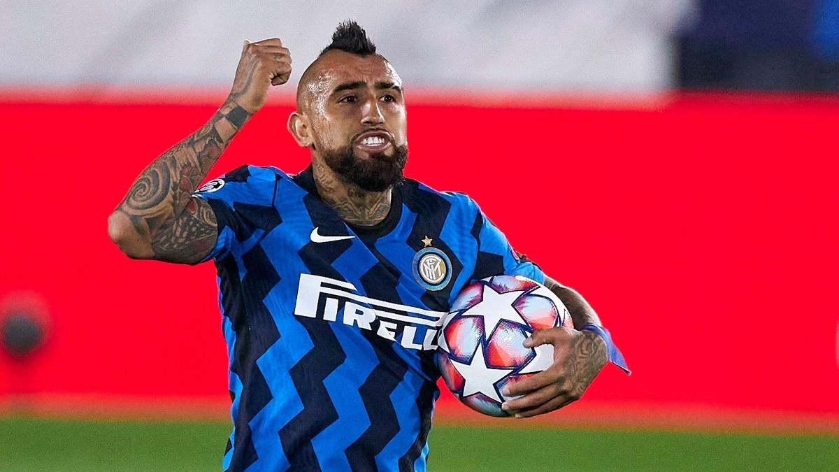 Arturo Vidal: Inter de Milán celebra victoria de Chile con doblete del King en Eliminatorias Qatar 2022   RedGol