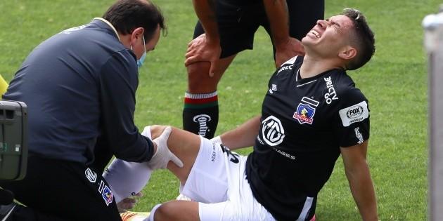 Colo Colo: Óscar Opazo sufre lesión en la rodilla en el Campeonato Nacional  e inquieta a los hinchas albos | RedGol