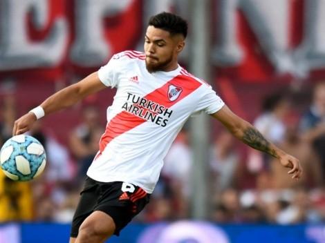 Paulo Díaz volverá a ser suplente en River Plate