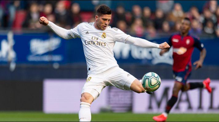 Luka Jovic dio positivo por Covid-19 — Real Madrid