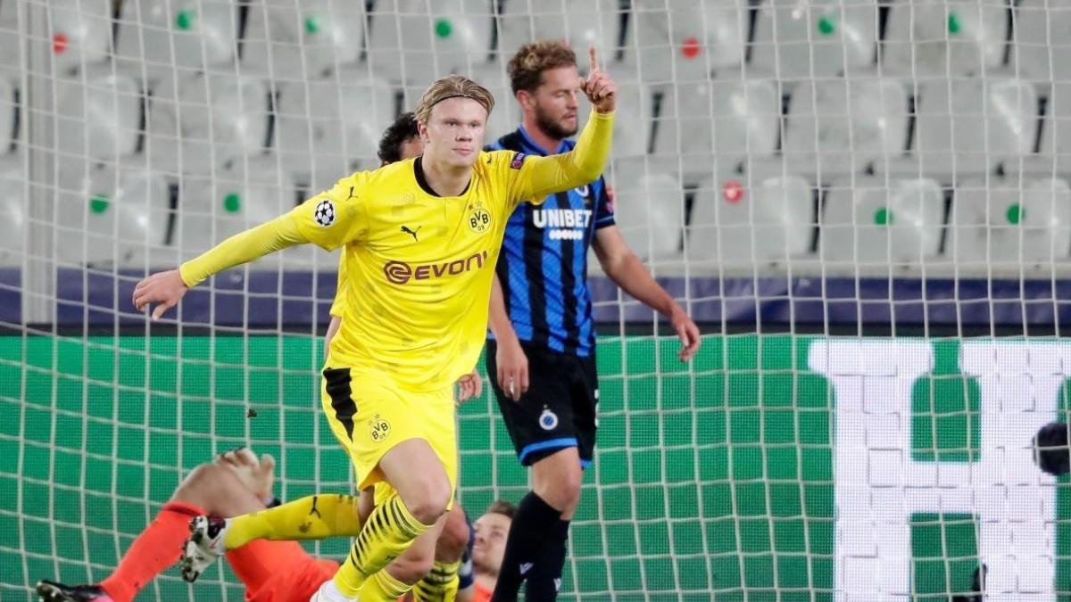 Borussia Dortmund vs Brujas   Ver EN VIVO y ONLINE la fase de grupos de la Champions League 2020   FOX SPORTS   RedGol