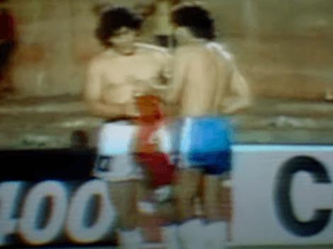 Puebla recuerda el día en que cambió camisetas con Maradona