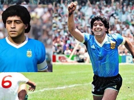 Recrean en PES 2021 el épico gol de Maradona a Inglaterra