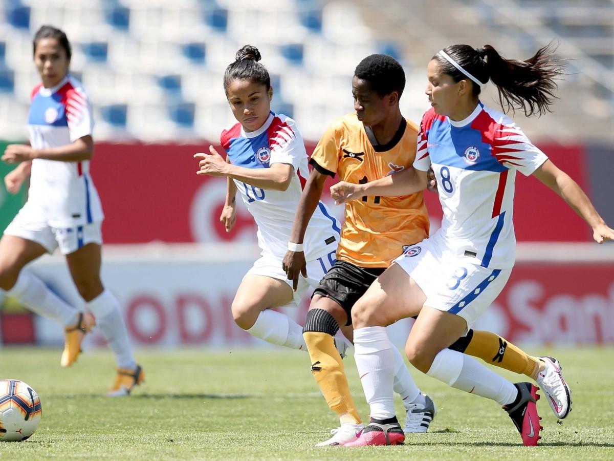 Chile vs Zambia   EN VIVO: La Roja Femenina en su partido preparatorio para  el repechaje a Tokio 2021   RedGol