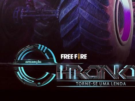 Operación Chrono es el nuevo evento futurista de Free Fire