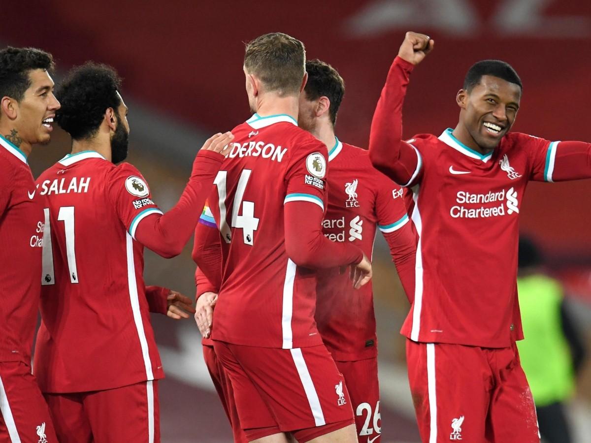 Liverpool golea a Wolverhampton y es líder de la Premier League | RedGol