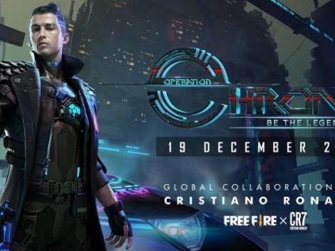 CR7 llega a Free Fire con un personaje en Operación Chrono