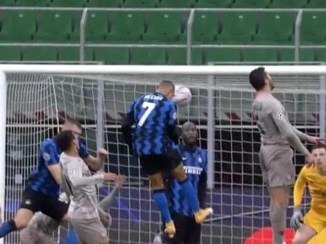 Alexis Sánchez y su increíble golazo evitado... por Lukaku