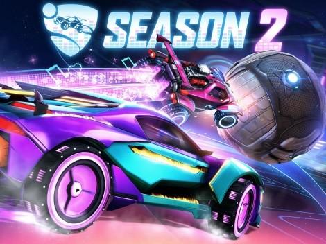 Temporada 2 de Rocket League: Novedades y nuevos vehículos