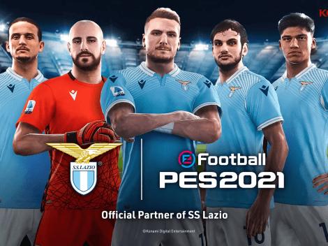 Lazio es nuevo partner de Konami para eFootball PES 2021