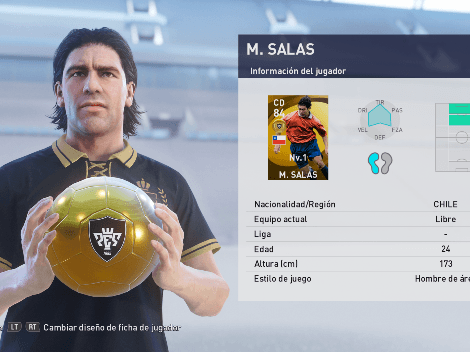 Consigue gratis a Marcelo Salas en myClub de PES 2021