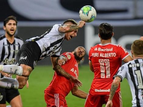 Mineiro de Edu Vargas visita al Paranaense en el Brasileirao