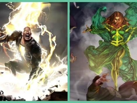 """Adaptación de """"Black Adam"""" ya tiene a su Cyclone"""