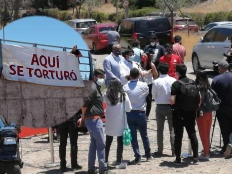 Protesta: no quieren Juan Pinto Durán en el Cerro Chena