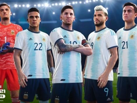 La AFA es nuevo partner oficial de eFootball PES 2021