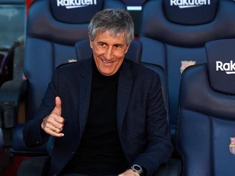 Quique Setién no descarta regresar al Barcelona