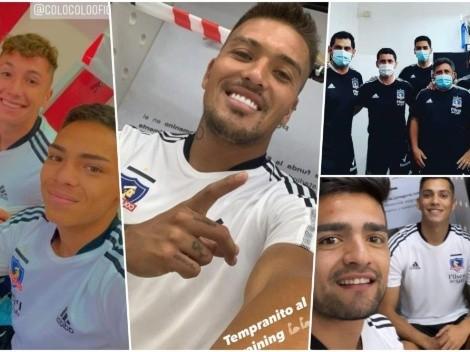 Jugadores de Colo Colo filtran la nueva camiseta de entrenamiento