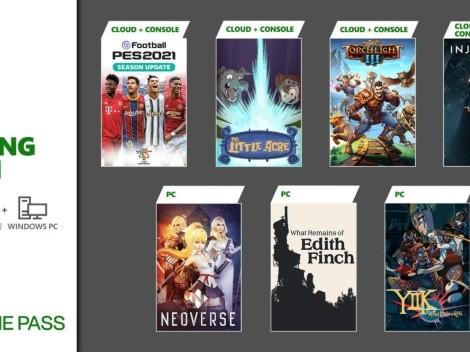 Injustice 2 y PES 2021 llegan a Xbox Game Pass en enero