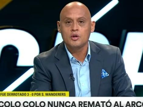 """Claudio Bustíos: """"Colo Colo parece ya un equipo descendido"""""""